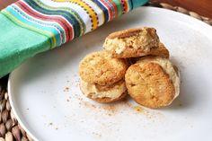 Jessie Spiby's mini honeycomb ice-cream sandwiches - Rip It Up