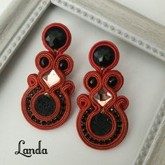 Rings, Soutache Jewelry, Stud Earrings, Accessories, Ring, Jewelry Rings