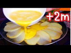 Συνταγή αυγών και πατάτας - YouTube Aloo Recipes, Baked Potato Recipes, Cookbook Recipes, Curry Recipes, Cooking Recipes, Stuffed Baked Potatoes, Stewed Potatoes, Food Wishes, Tasty