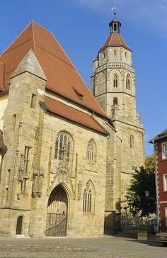 Weißenburg - St. Andreas Kirche