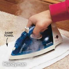 Image result for how to get candle wax out of carpet