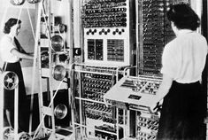 Great British Inventions - Electronic Programmable Computer (1943). Built & designed by brilliant Post Office engineer Tommy Flowers, the Colossus arrived at Bletchley Park to crack the complex German Lorenz cipher. Constructed using 1,500 vacuum tubes, the Colossus was the first truly electronic, digital and programmable computer. Sadly for Flowers, the technology was reserved for military intelligence and remained top secret – with every Colossus machine dismantled after the war.