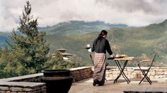 How about a quiet lunch for two overlooking the foothills of the Himalayas at Uma Paro?