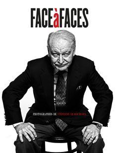 """""""Face à Faces"""" de Stéphane de Bourgies #livrephoto #portraits #noiretblanc"""