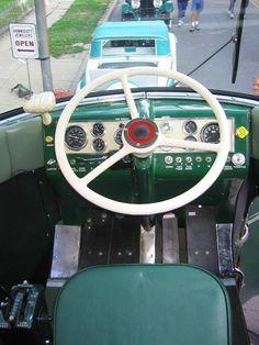 GM Futurliner driver's seat