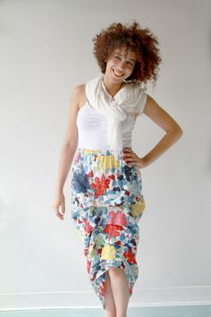 cute easy skirt. I see it in a knit fall fabric. A must do quick and easy.