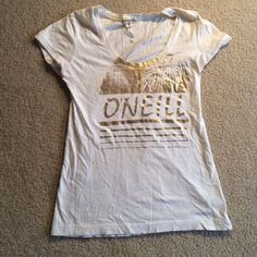 Oneill t shirt Lightly worn oneill t shirt perfect for layering underneath sweaters! O'Neill Tops Tees - Short Sleeve