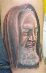 Tags Tattoo Padre Pio  Religiosi Ritratti