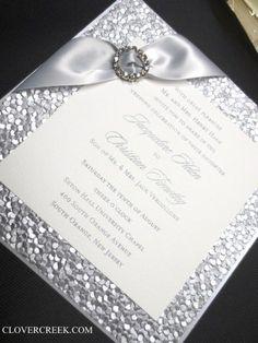 206 Best Invites With Glitz And Glam Images Invites Elegant
