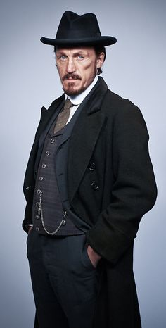 Det. Sgt. Bennet Drake (Jerome Flynn) 'Ripper Street' 2013. Costume designed by Lorna Marie Mugan.