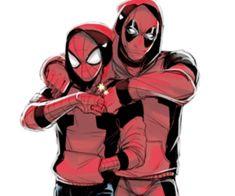 spiderman deadpool - Pesquisa Google