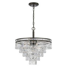 Crystorama Mercer 5264 Chandelier - 5264-EB-CL-MWP