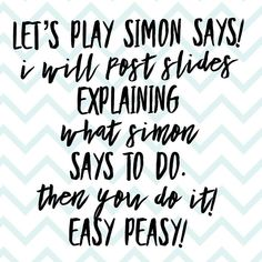 Head on over to our Facebook VIP PAGE! Shop is open! Check out all our beautiful inventory in our albums. WE HAVE BLACK LEGGINGS! Tuesdays are game days here at LuLaRoe Sweet Boutique! Let's play Simon Says! Every hour at the top of the hour today starting at 9am until 7pm we will be posting a Simon Says! Every post you participate in will give you a chance to win $10 in LuLaCash. If you participate in ALL you will be entered to win the GRAND PRIZE of $50 in LuLaCash! You can win more than onc Younique Party Games, Simon Says, Lets Play, Retail Therapy, Life Lessons, Feel Good, 3 D, Digital Marketing, Let It Be
