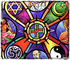 I think that people believe in religion because it gives them some answers to the unexplainable things in our world and gives them a clear understanding about life and it also gives them hope. A religion brings people together so it also signifies unity and strength. - Maneet