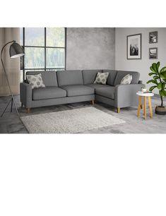 Tromso Small Corner Sofa Right Hand Small Corner Sofa Corner Sofa Living Room Small Spaces Corner Sofa Living Room