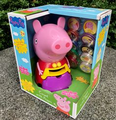 Peppa Pig Cartoon, Learn To Count, Purple Purse, Fun Songs, Musical Toys, Electronic Toys, Learning Toys, Toy Chest, Kids Toys