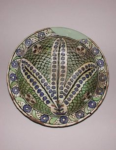 Maker:    Unknown; potter; possibly    Collection:    Henry Scipio Reitlinger    Category:    fritware (stonepaste)    Name(s):    bowl  Islamic pottery; category  Iznik; category    Date:    circa 1600 — 1799    School/Style:    Ottoman    Period:    17th-18th Century