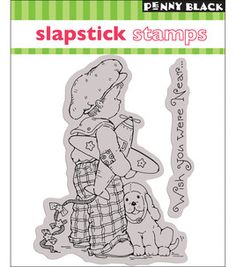 """Penny Black Cling Rubber Stamp 4""""X5""""-Fly Away: stamps: stamping: scrapbooking: Shop 