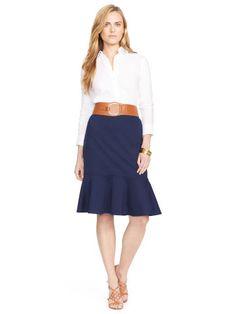 Drop-Waist Ruffled Skirt - Lauren Sale - RalphLauren.com