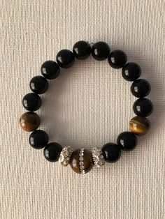A personal favorite from my Etsy shop https://www.etsy.com/listing/500347873/tiger-eye-ladies-night-out