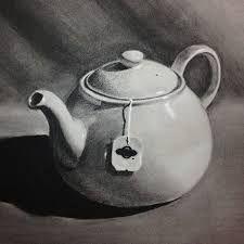 Résultats de recherche d'images pour « charcoal drawing of garbage »