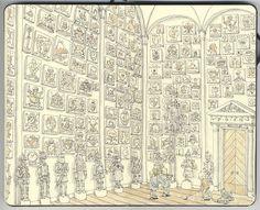 Illustrazione di Mattias Adolfsson