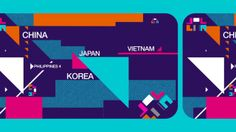 m asian charts de Junsik Park client - M net role - concept, design, animation