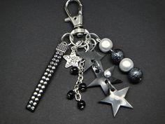 """Bijou de sac / porte clefs """"étoiles"""" : Autres bijoux par hobijoux"""