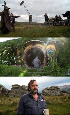"Take a behind the scenes look at ""The Hobbit"" !!! <3"