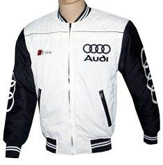 50//50/% cotton poly Hooded Sweatshirt Audi Logo Vertical LOGO Graphic NEW!