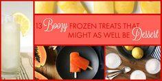 13 Boozy Frozen Desserts To Make This Summer
