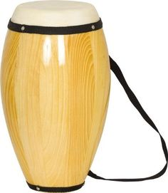 """Rhythm Band Conga Non-Tunable Barrel 12""""H X 5"""" Dia. by Rhythm Band. $33.99. Rhythm Band CongaThe hardwood construction of this conga drum combined with the fine calf skin head make for the production of fantastic tone. The height of the drum is 20"""" while the diameter of the head is 7""""."""