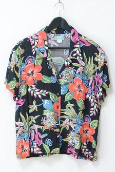 Floral Print Shirt, Floral Prints, Aloha Shirt, Hawaiian, Menswear, Blouse, Drawings, Shirts, Life