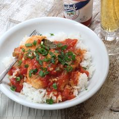 For a hearty, New Orleans meal, try this Alligator Sauce Piquante -- alligator cooked in a spicy Piquante sauce and served over rice.
