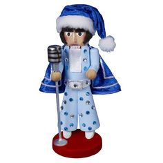 Kurt Adler Steinbach Elvis Nutcracker Blue *** This is an Amazon Affiliate link. For more information, visit image link.