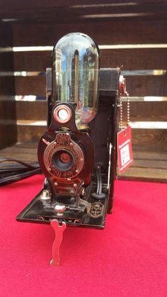 Vintage No.2 Kodak Camera Lamp