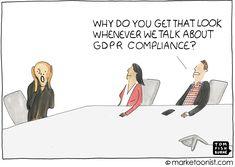 Marketing Data and GDPR Compliance cartoon   Marketoonist   Tom Fishburne