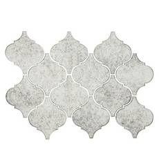 Antique Mirror Arabesque Glass Mosaic