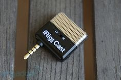 iRing MIC Cast for recording better-quality audio on your iOS device.