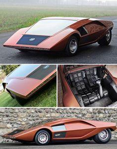 Lancia Stratos Zero concept car