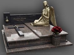Tombstone Designs, Cemetery Decorations, First Love, Memories, Statue, Crafts, Puerto Rico, Anna, Hearts