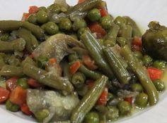 Varomeando: Menestra de verduras