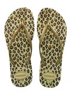 Havaianas slippers panter print