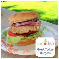 Raddish Kids Greek Burgers