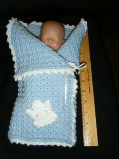 Free Crochet Pattern: Sweet William's Angel Wrap for Preemies ~ **Pinned ONLY for inspiration** ~W~ Preemie Crochet, Crochet Baby Cocoon, Crochet Bebe, Baby Blanket Crochet, Crochet For Kids, Crochet Yarn, Free Crochet, Knitting For Charity, Baby Knitting
