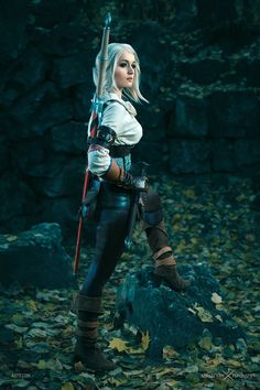 "pixalry: "" The Witcher Ciri Cosplay - by Love-Squad"" Cosplay Anime, Epic Cosplay, Amazing Cosplay, Cosplay Outfits, Cosplay Girls, Female Cosplay, The Witcher 3, Witcher Art, Ciri Witcher"