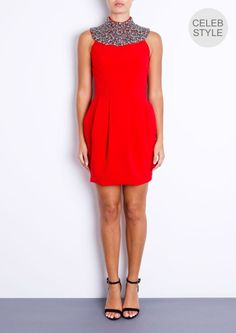 IVY - Red Tulip Dress