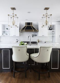 We all know the kitchen is the heart of the home, but it's also the place we most often play it safe design-wise. And not without good reason—go too trendy and it looks outdated in a few short years, lean too run-of-the-mill and it tends to read cheap. These easy tricks—from wall treatments to appliance upgrades—will make your kitchen look and feel more luxe.