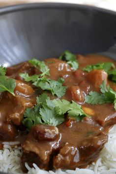 Curry de boeuf très parfumé | Ondinecheznanou.blogspot.com