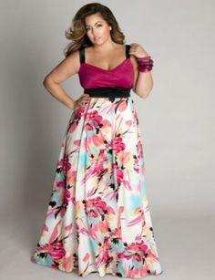 Designer Plus Size Vestido Para Fiestas Para Gorditas Igigi